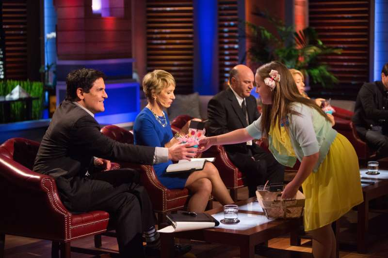 Investors Mark Cuban, Barbara Corcoran and Kevin O'Leary consider a funding proposal on an episode of ABC's  Shark Tank.