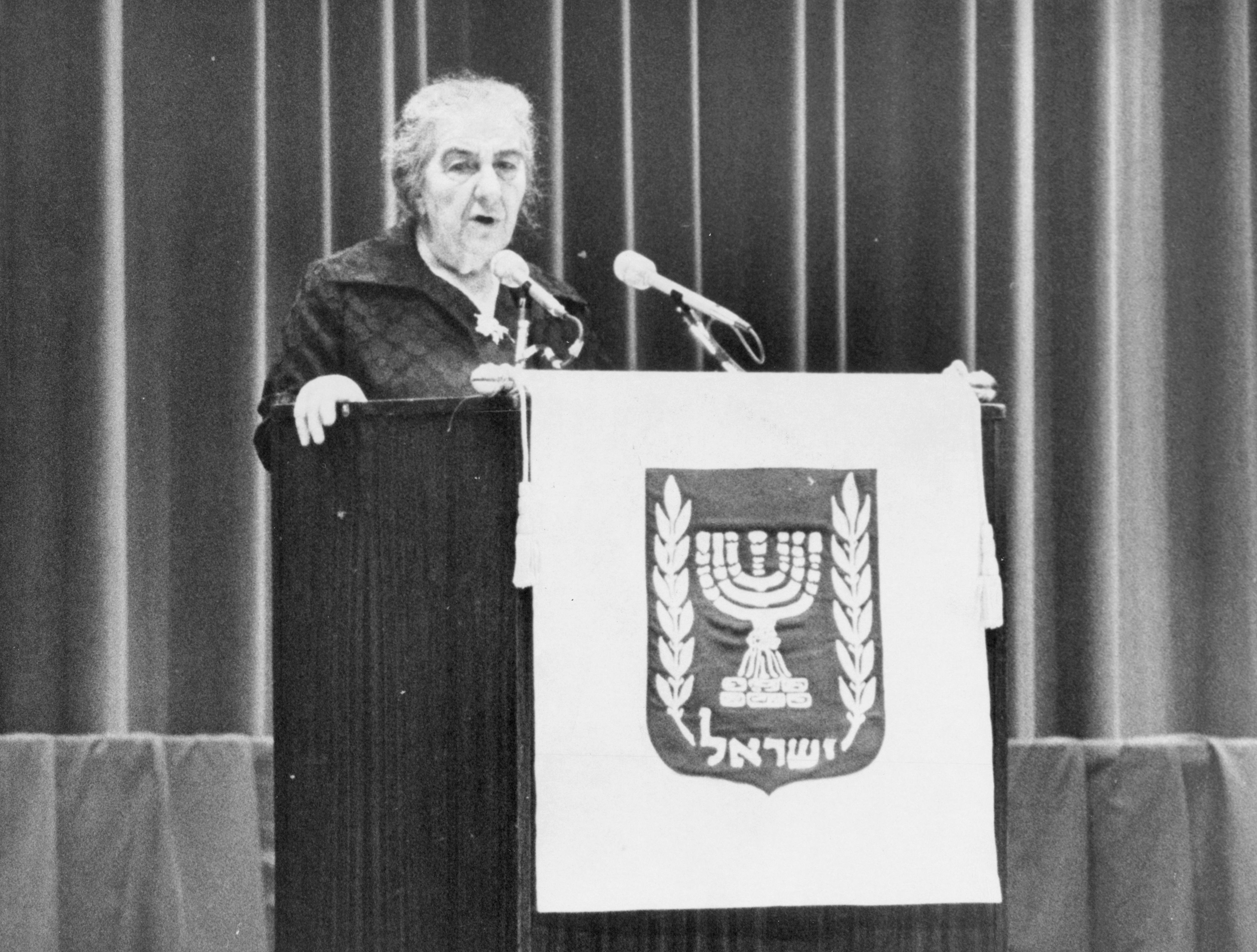 Golda Meir, March 8, 1973.