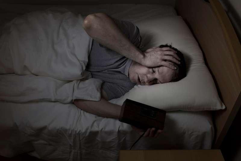 A senior with insomnia