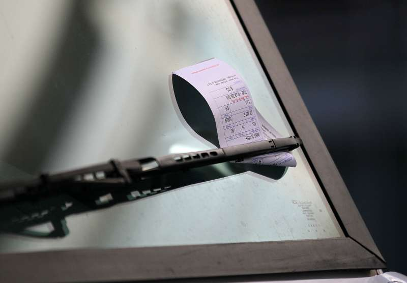 City Of San Francisco To Increase Number Of Parking Tickets To Aid Budget Deficit