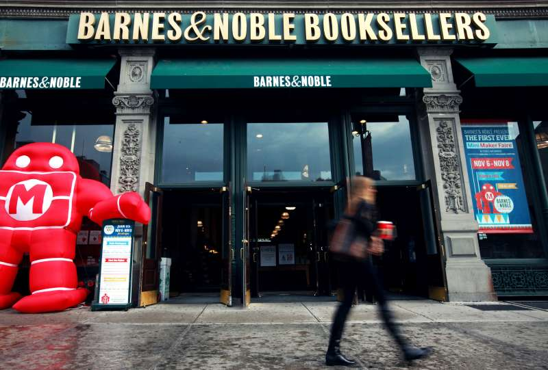 Inside A Barnes & Noble Inc. Location As New CEO Sees Non-Book Items As Key To Holidays