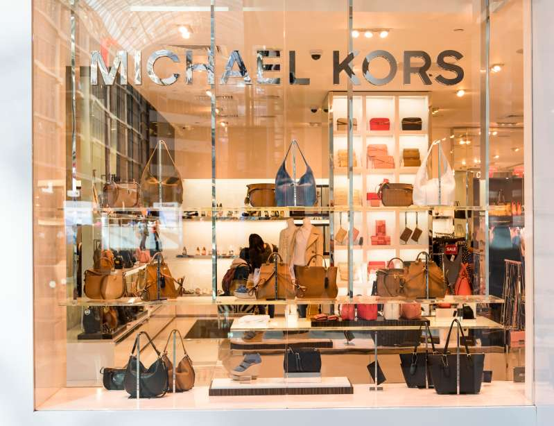 MIchael Kors store in Eaton Center. The brand is an American