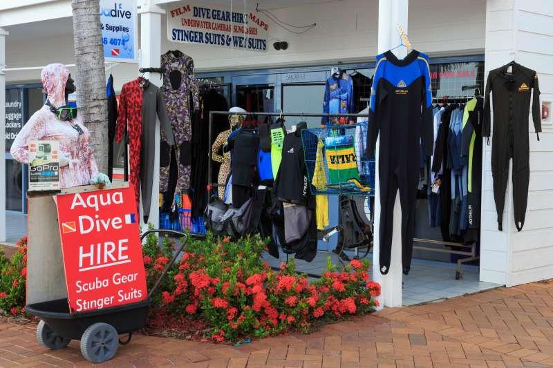 Dive Shop, Abell Point Marina, Airlie Beach