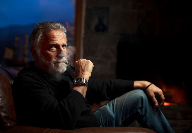 Jonathan Goldsmith, a.k.a.  The Most Interesting Man in the World,  the iconic character from Dos Equis beer commercials.