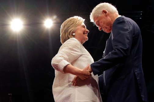 How Would Bill Clinton Handle the Job of 'First Spouse'?