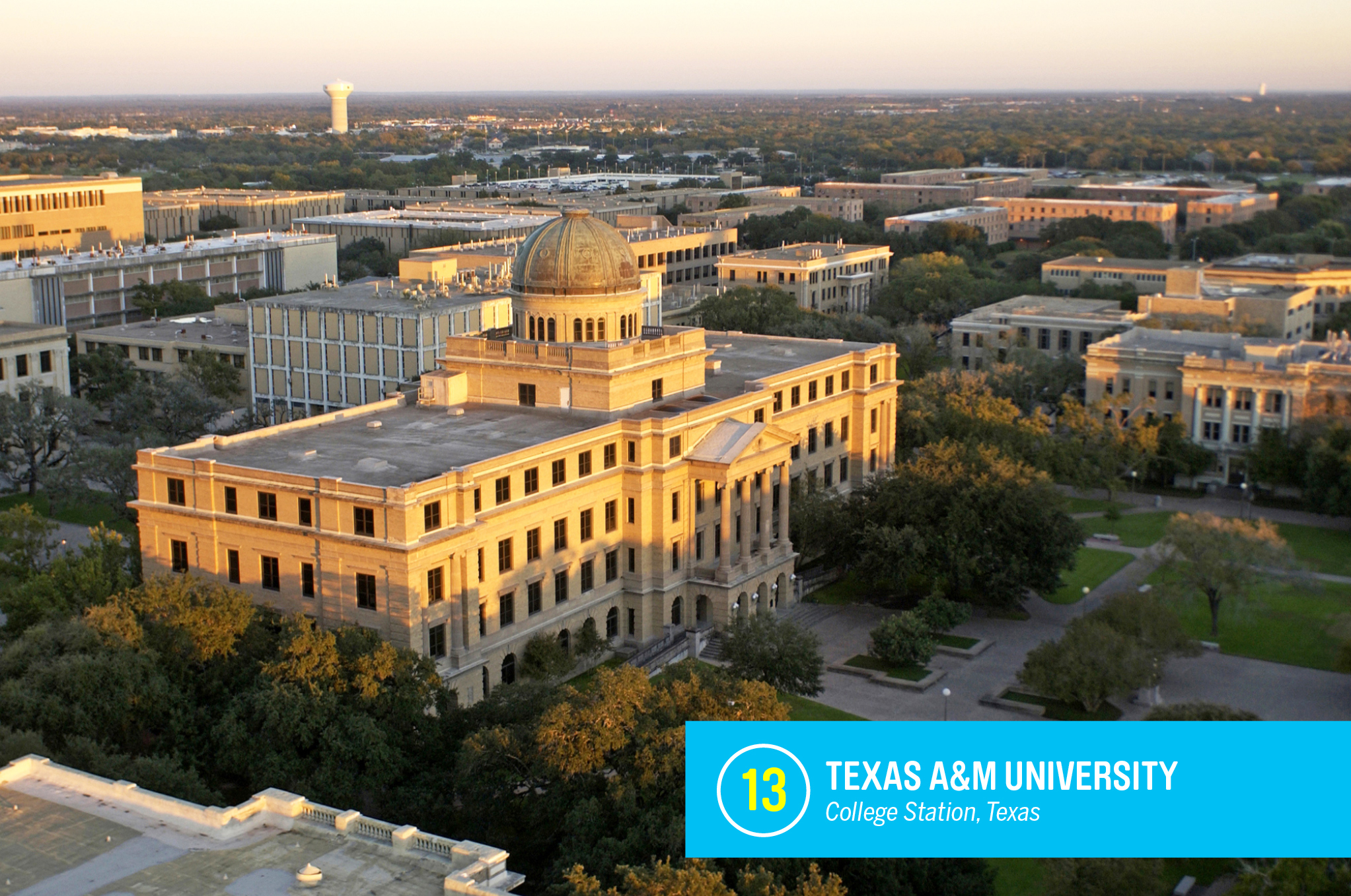 """<a href=""""https://money.com/best-colleges/profile/texas-a-and-m-university-college-station/"""" target=""""_blank"""">Texas A&amp;M</a> has one of the largest undergraduate student bodies in the country, with more the 40,000 students who graduate into an especially proud, loyal group of alumni. The college is well known for its business, agriculture, and engineering programs, as well as a recreation, park, and tourism management program. <a href=""""https://money.com/best-colleges/profile/texas-a-and-m-university-college-station/"""" target=""""_blank"""">FULL PROFILE</a>"""