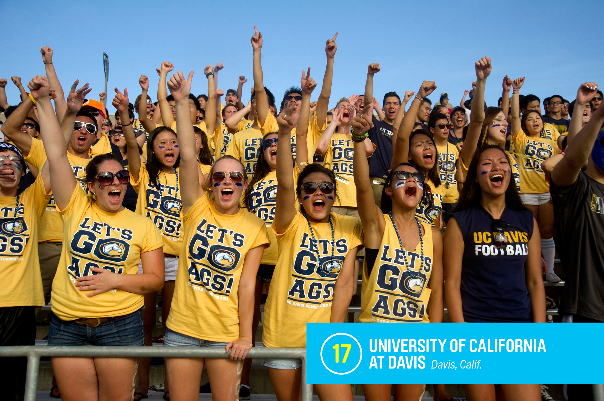 """<a href=""""https://money.com/best-colleges/profile/university-of-california-davis/"""" target=""""_blank"""">UC–Davis</a> has made a reputation as an affordable school that produces results. About 43% of students are low-income, but its six-year graduation rate is a high 83%. The school is best known for its agriculture and animal science specialties. <a href=""""https://money.com/best-colleges/profile/university-of-california-davis/"""" target=""""_blank"""">FULL PROFILE</a>"""