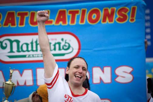 Champion Hot Dog Eater Joey Chestnut and 4th of July Dogs: By the Numbers