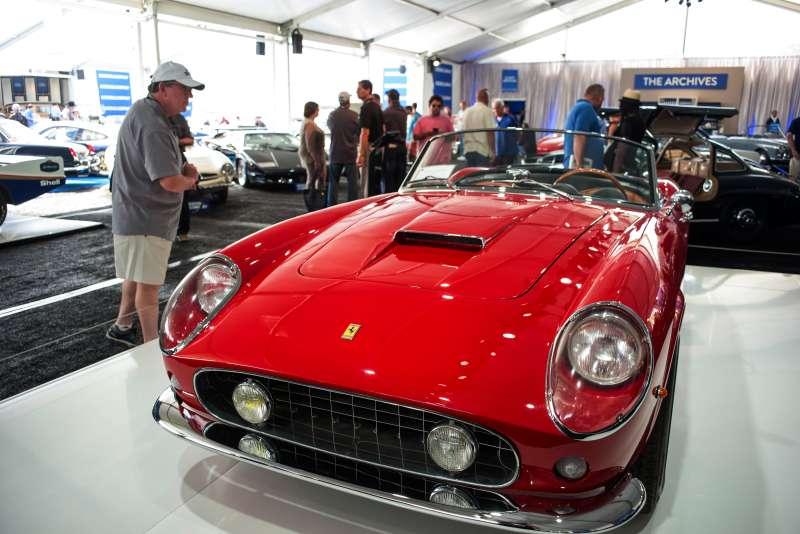 Inside The Pebble Beach Concours d'Elegance Classic Car Show