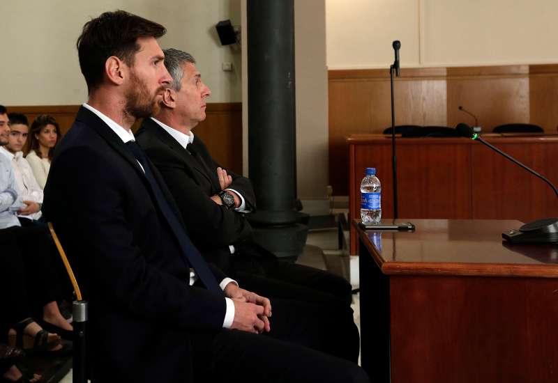 Barcelona's Leo Messi Testifies In Fraud Case