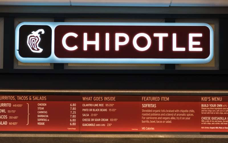 Restaurants in USA: Chipotle Mexican Grill Chipotle