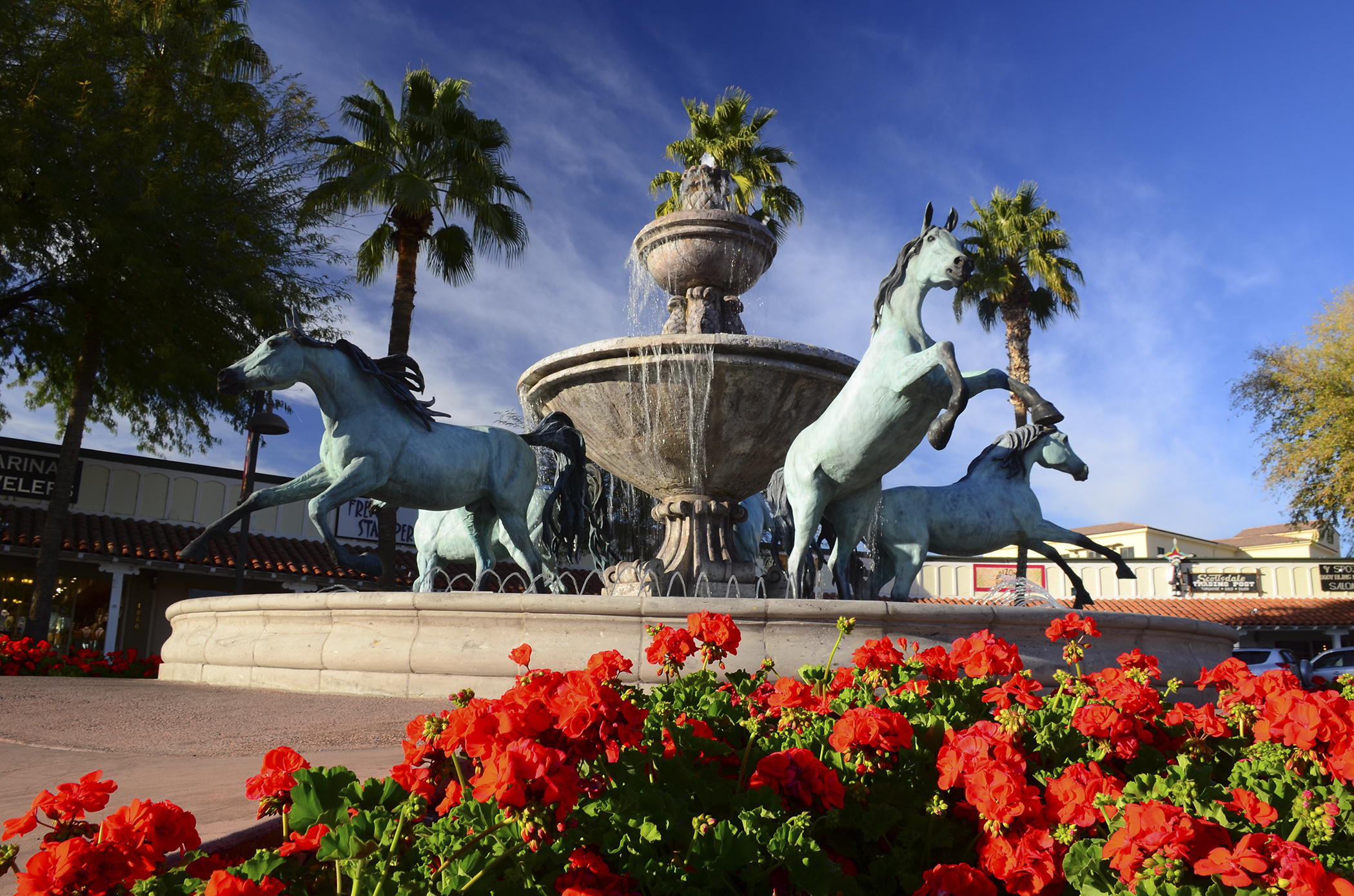 Scottsdale, Arizona. Before you move here, be sure you love golf, spas, and a hot, sunny desert climate. These days, high-end restaurants, bars, galleries and shops are also plentiful around town.