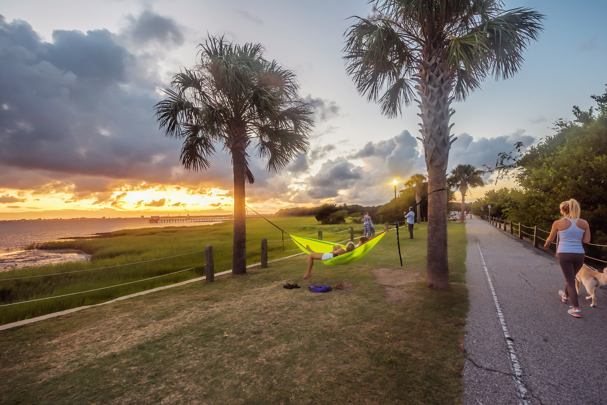 Charleston, South Carolina. One of the prettiest cities in the country, Charleston is kissed on all sides by water, from the Cooper and Ashley rivers to the harbor leading to the Atlantic.