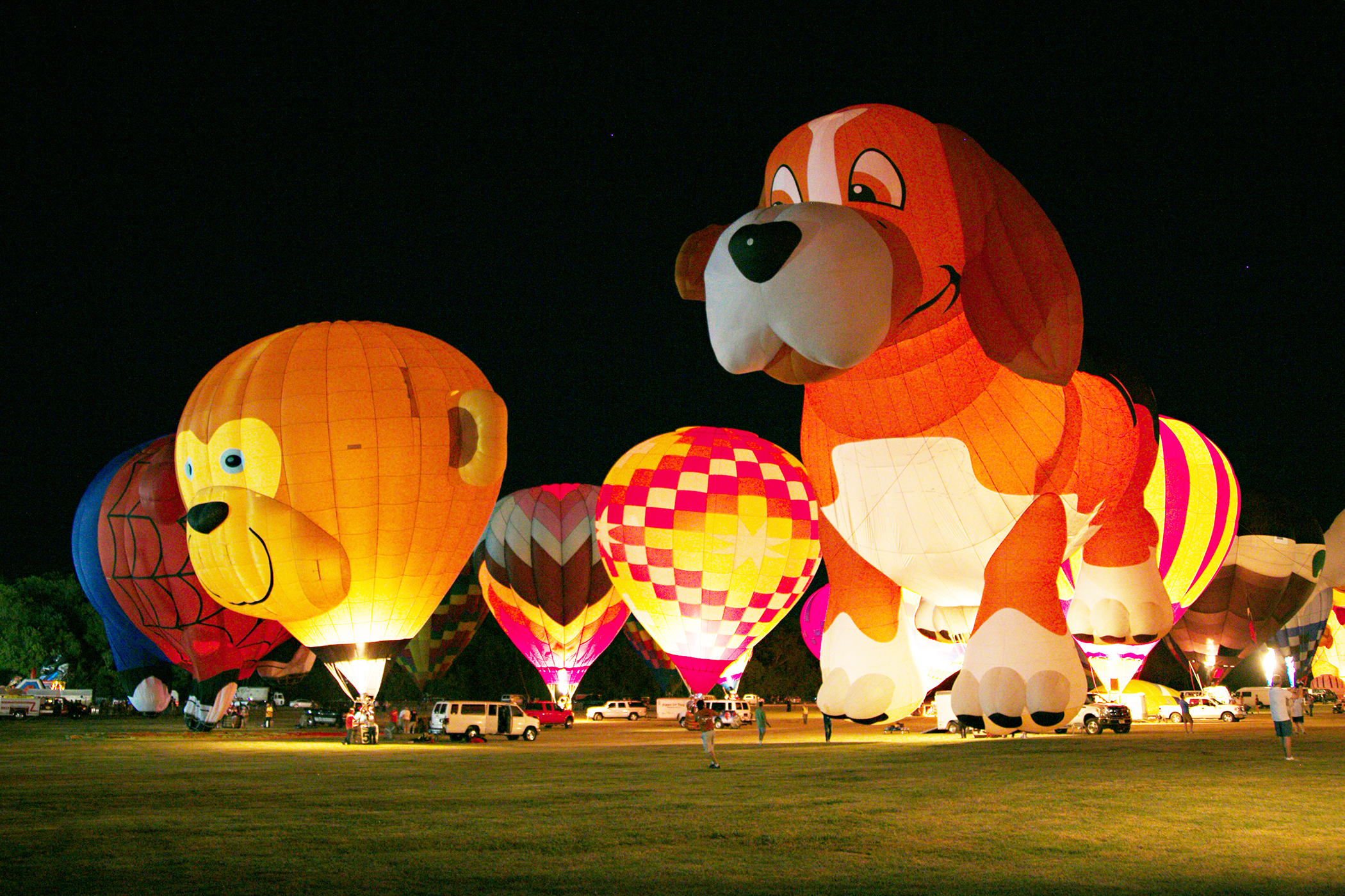 Plano, Texas.  The Plano Balloon Festival has become a signature annual event every fall. The rest of the year, Plano is known for making good on its motto— A great place to do business,  which has helped draw companies including J.C. Penney, Frito-Lay, and Bank of America to town.