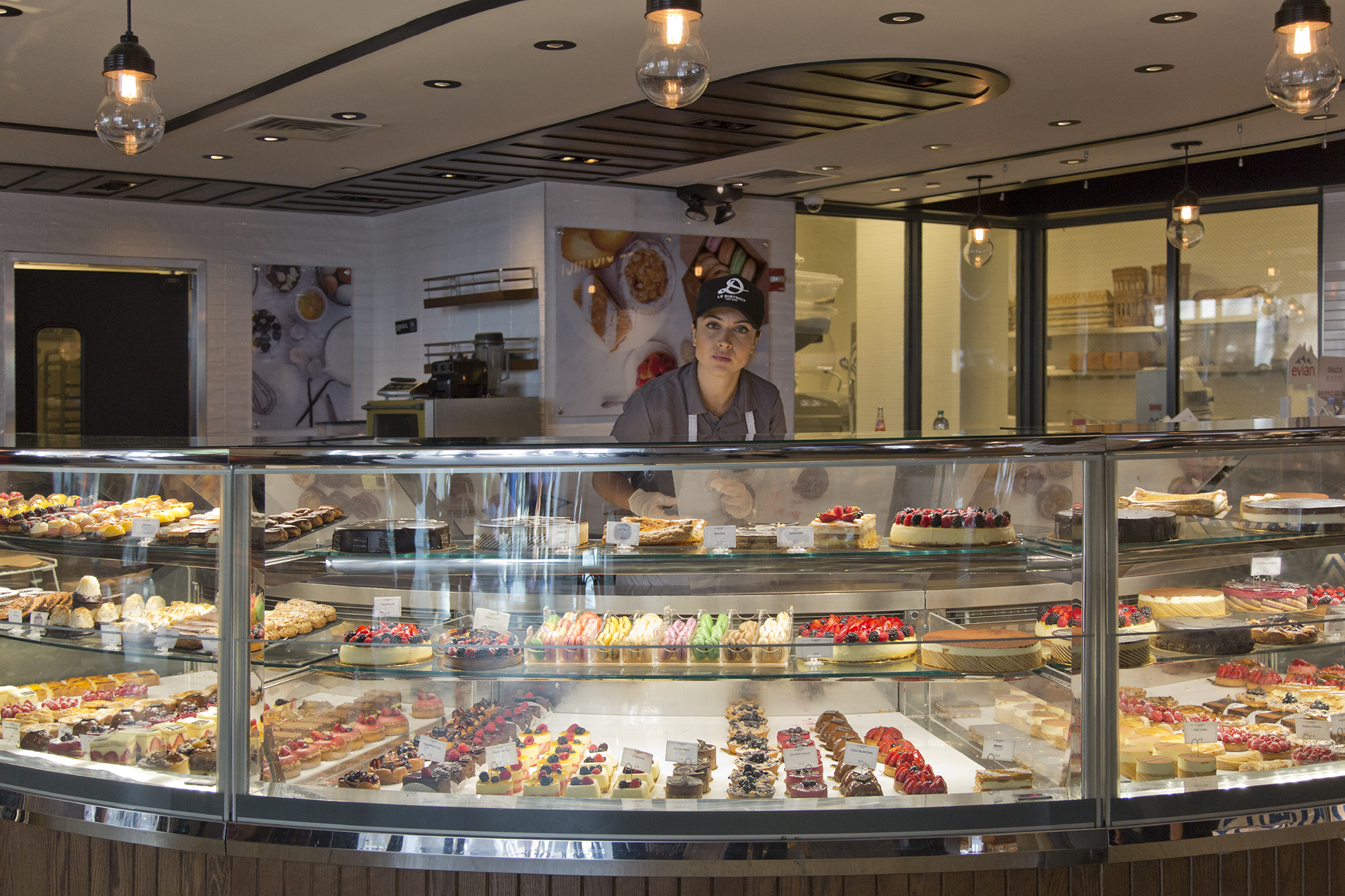 Le Patisserie inside of Le District, Brookfield Place.