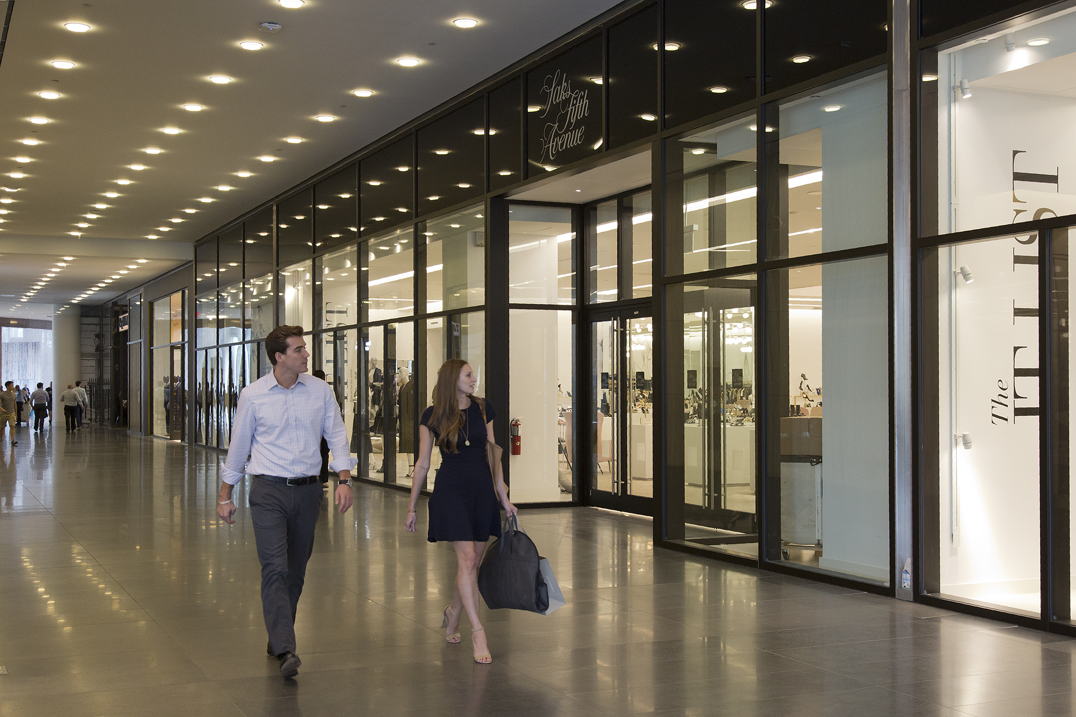 Saks Fifth Avenue store inside of Brookfield Place opens in September 2016.