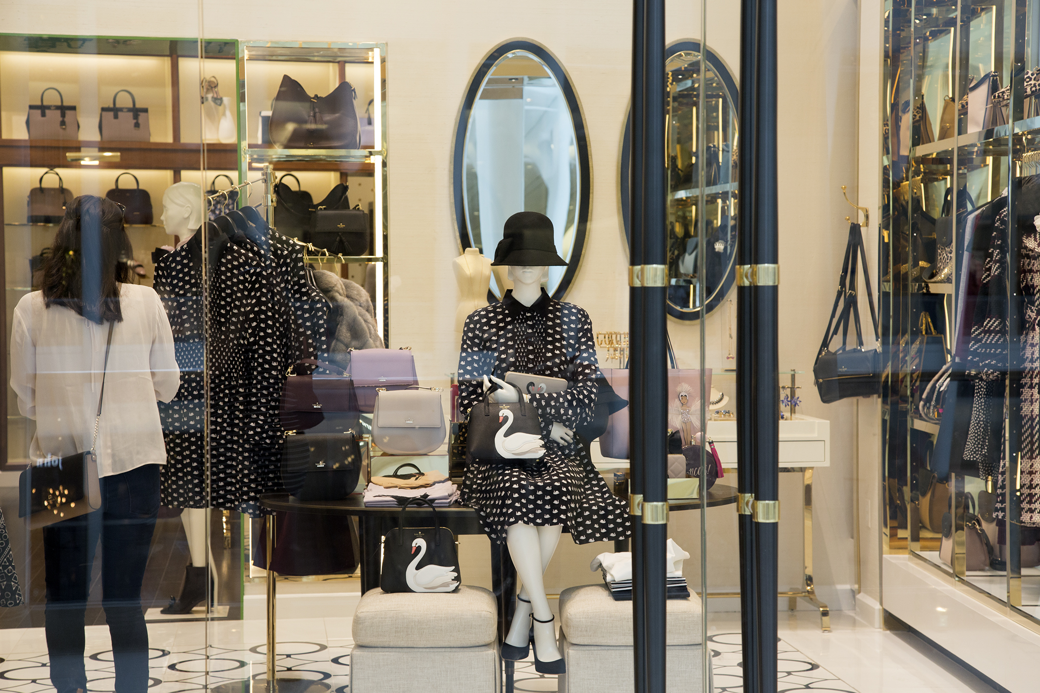 The Kate Spade store inside Westfield World Trade Center.