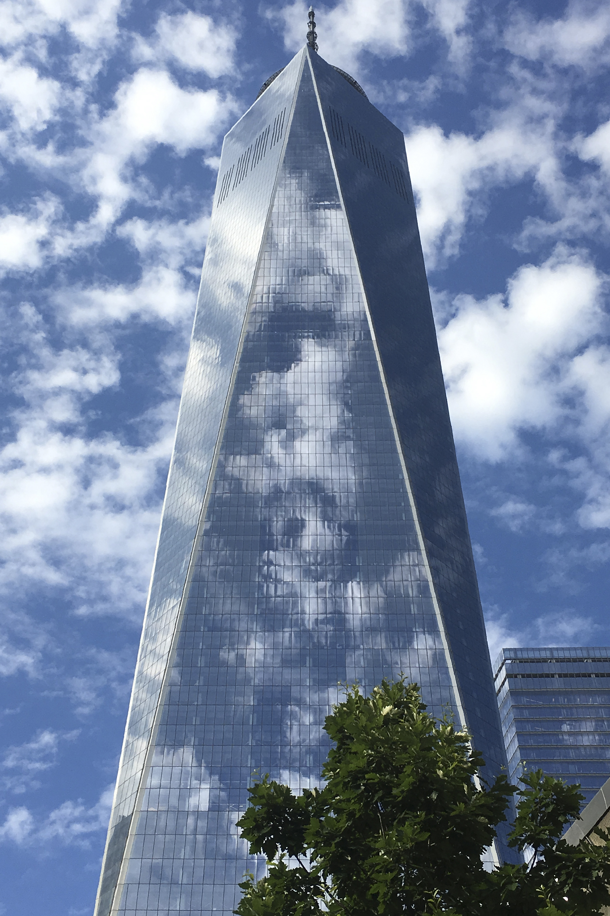 Completed in 2014, at 1,776 feet tall, One World Trade Center is the tallest building in the Western Hemisphere.