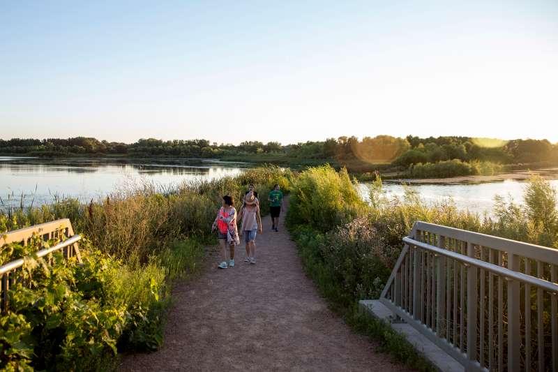 Purgatory Creek Park in Eden Prairie, Minnesota, on Aug 6, 2016.
