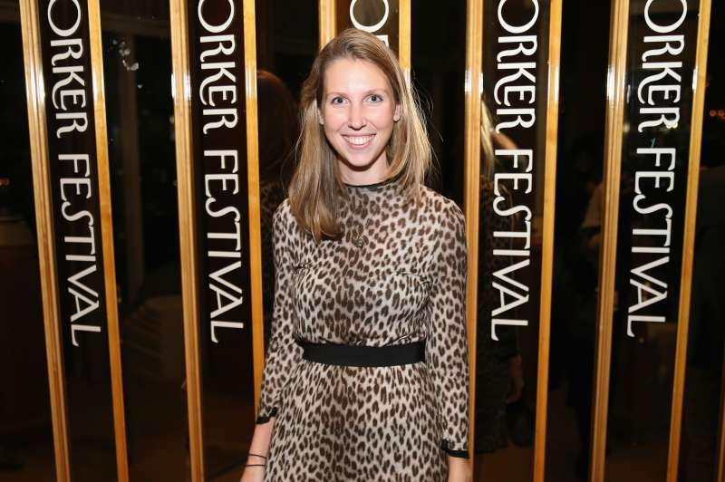 """Staff writer, New Yorker, Sarah Stillman attends the 2015 New Yorker Festival """"Wrap Party"""" hosted by David Remnick at the top of the Standard Hotel, 848 Washington Street, on October 3, 2015 in New York City."""