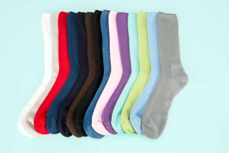 Soft and plush mid calf socks