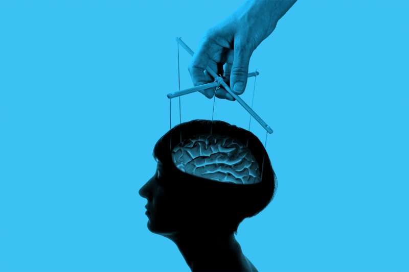 marionette strings connected to brain