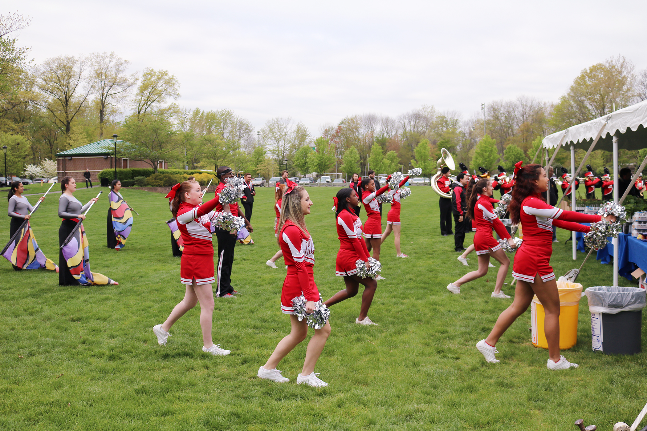 <strong>Parsippany, New Jersey. </strong>Parsippany may be only 35 miles from the Big Apple, but it feels like small-town America and is proud of its connection to the outdoors. (For instance, these cheerleaders are celebrating Arbor Day.)