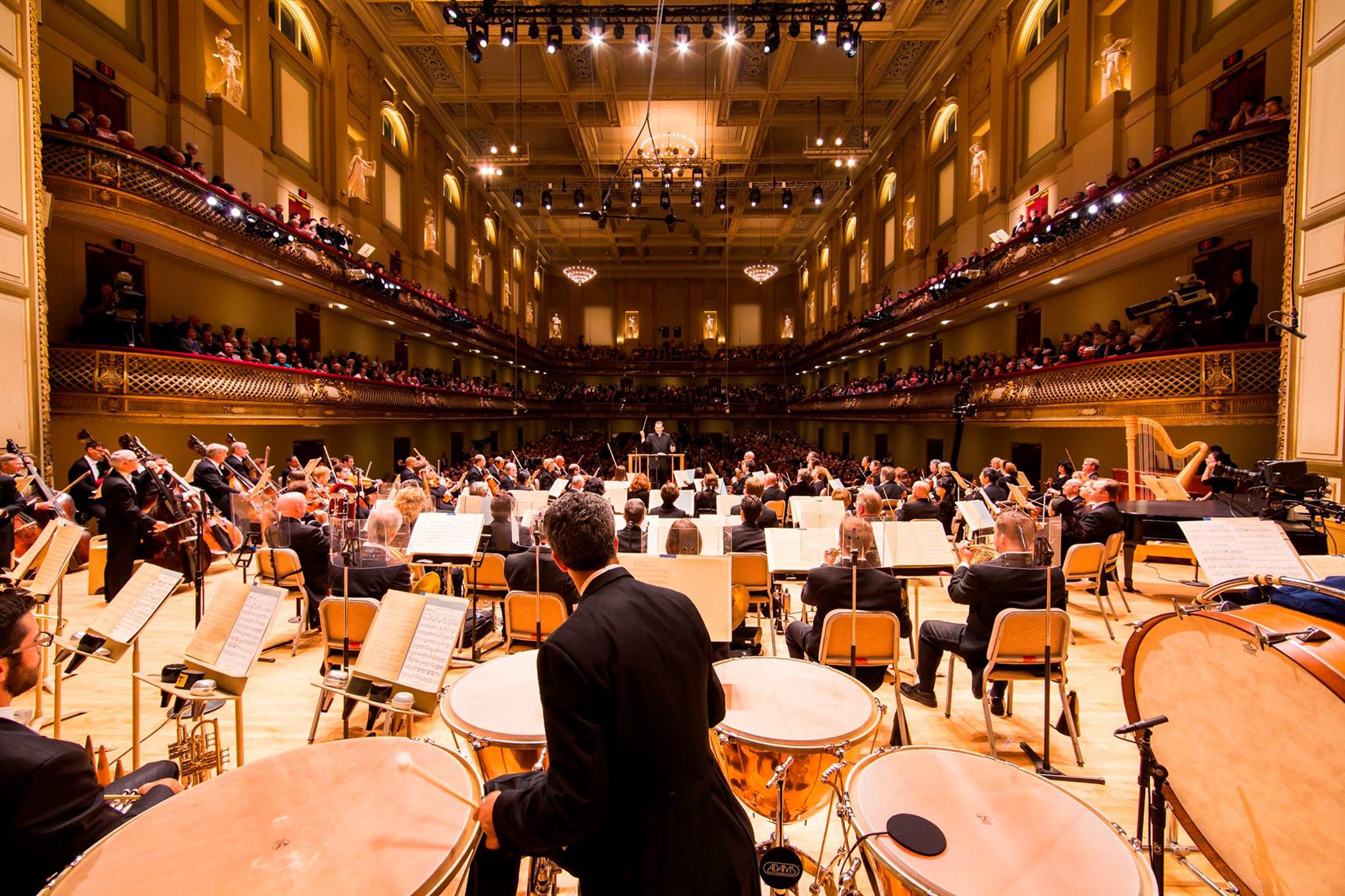 Courtesy of the Boston Symphony Orchestra