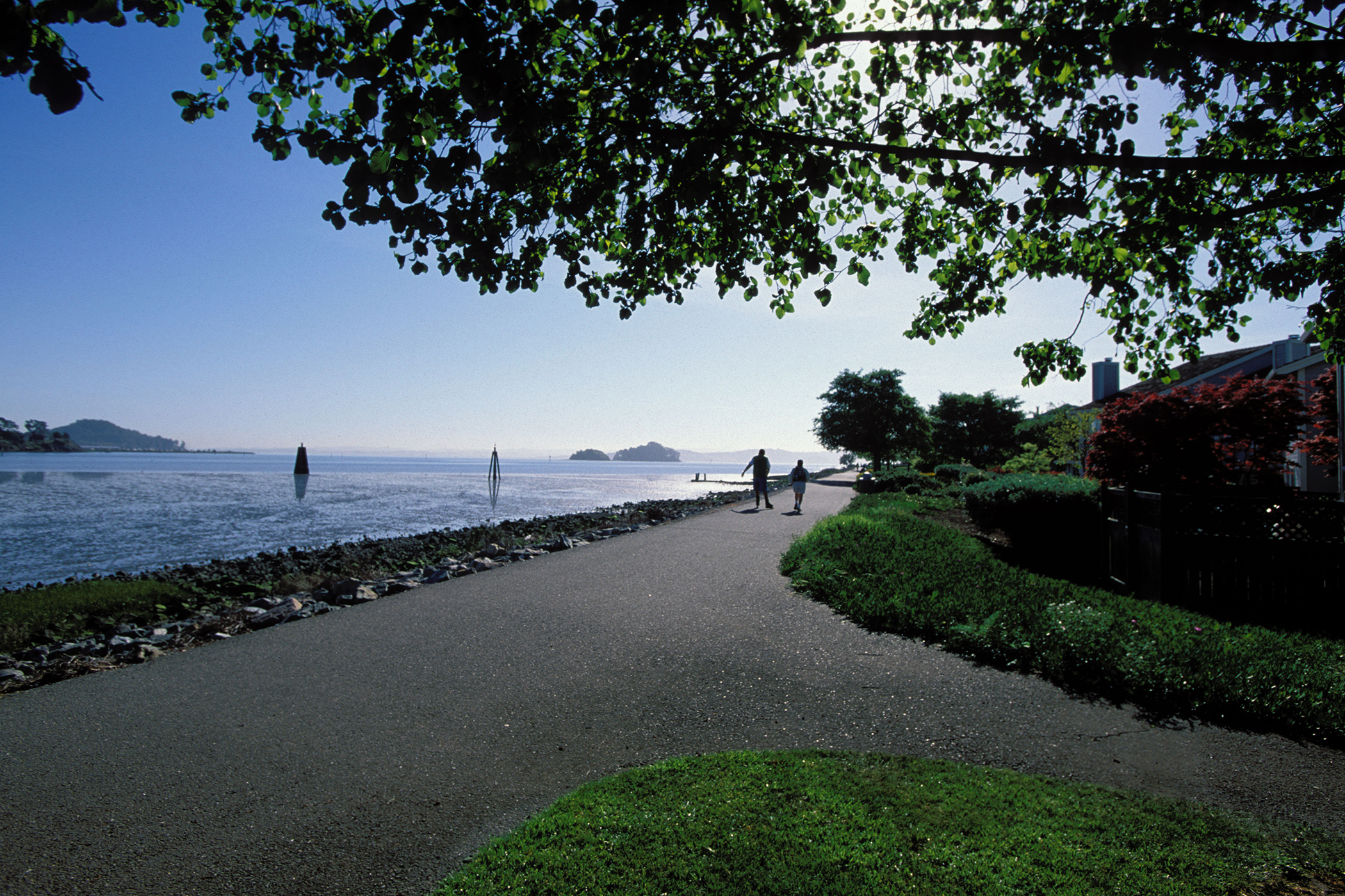 9.San Rafael, Calif.: Whether it's thanks to hiking or beach dwelling or whateverGolden State residents do to stay active, adult obesity levels are lower than most other places in the U.S.