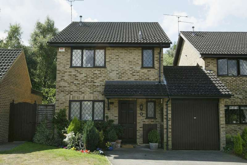 The house where Harry Potter lived in the Warner Brothers film 'Harry Potter and the Philosopher's Stone' on July 22, 2003 in Bracknell, England.
