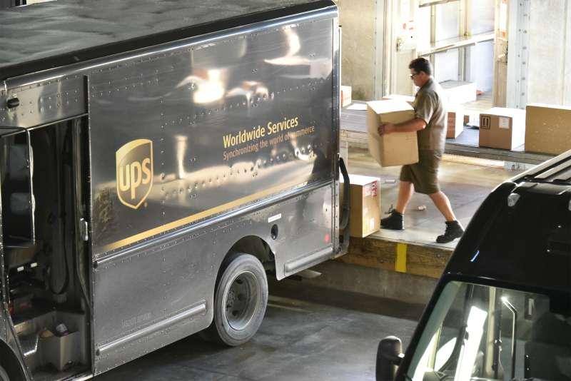 Operations Inside A UPS Distribution Facility