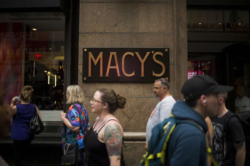 Macy's Shares Rise on Slower Sales Decline, Plan To Shut Stores
