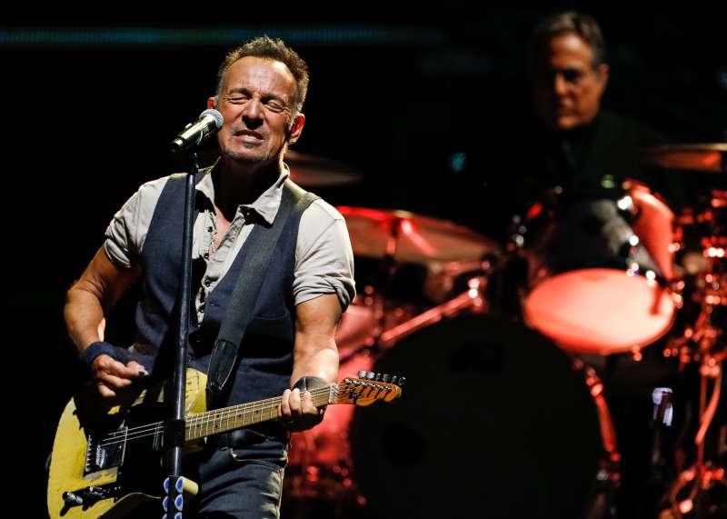 Bruce Springsteen In Concert At Gillette Stadium