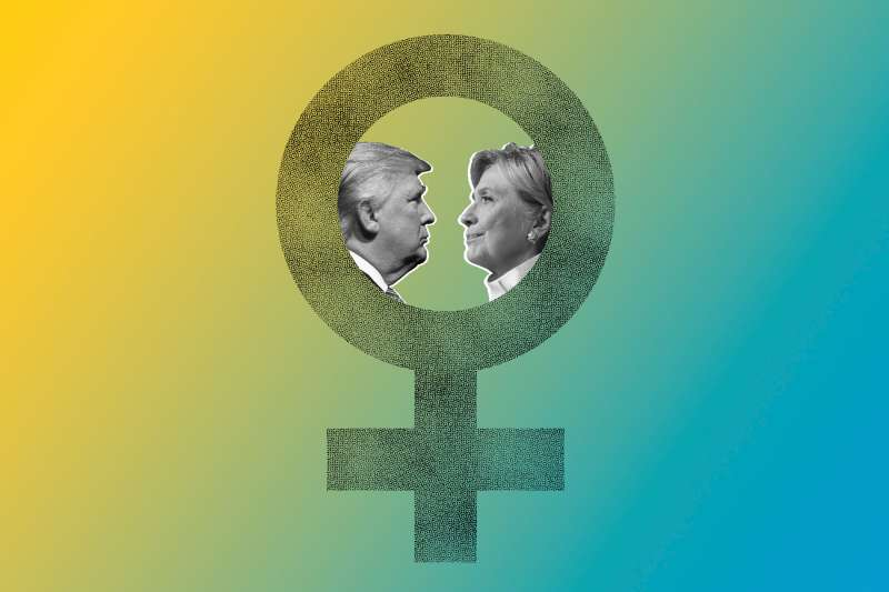 Donald Trump and Hillary Clinton face off about womens' issues