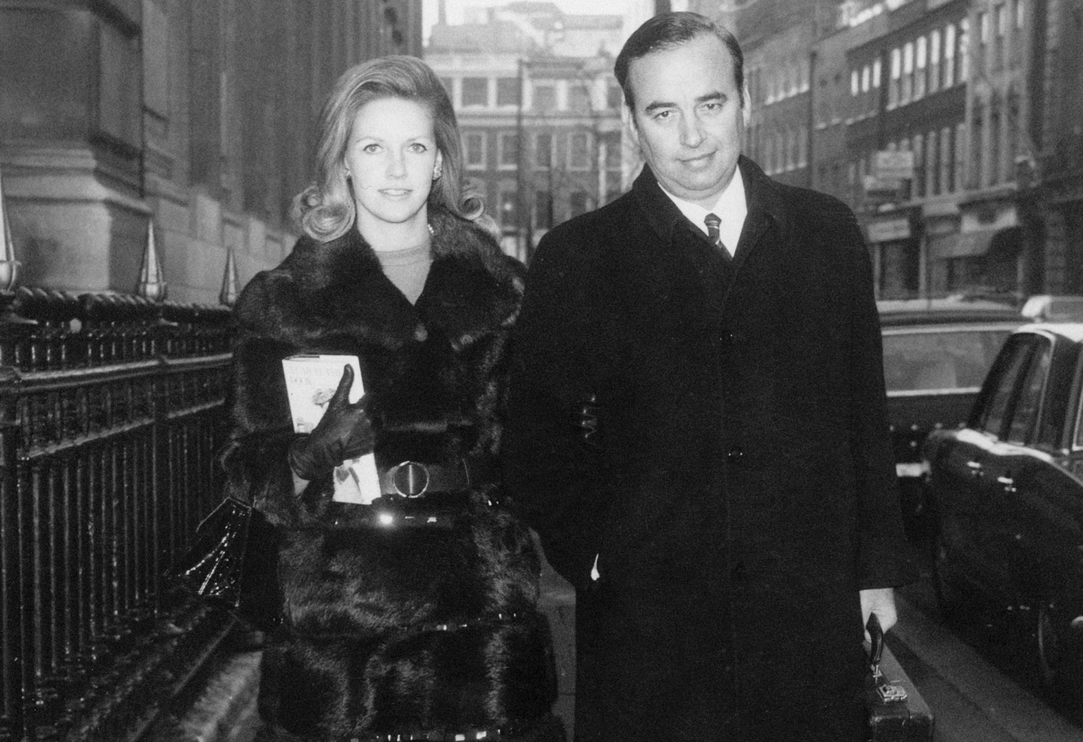 1Australian media mogul Rupert Murdoch arriving at the Connaught Rooms, London, with his second wife Anna Torv