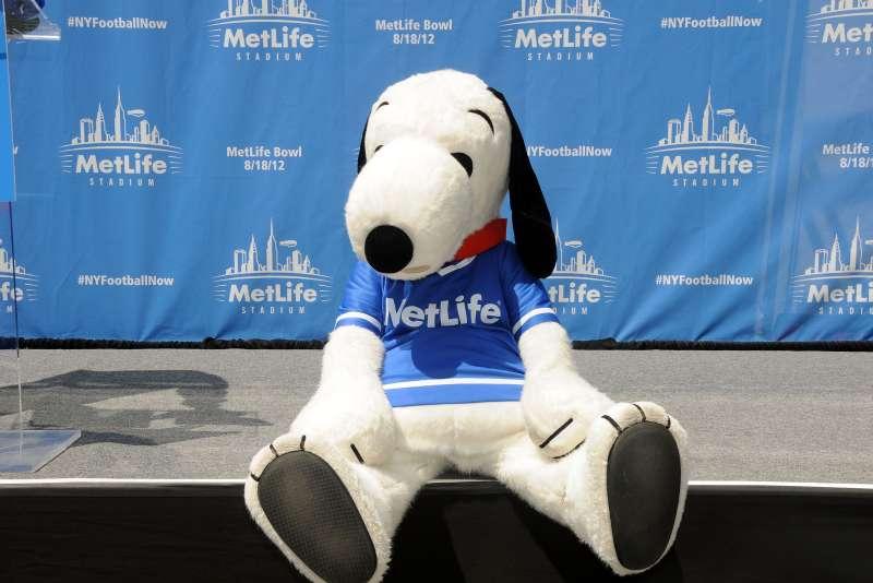 Random Acts Of Football 2012 Snoopy Statue Dedication Ceremony