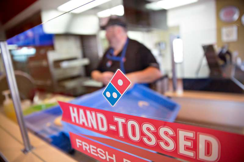 Inside A Domino's Pizza Inc. Location As Chain Tries To Draw More Customers