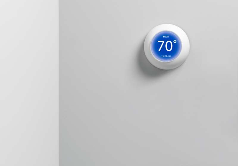 Digital Thermostat Round
