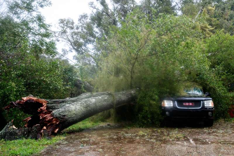 Hurricane Matthew Bears Down On Atlantic Coast Of Florida