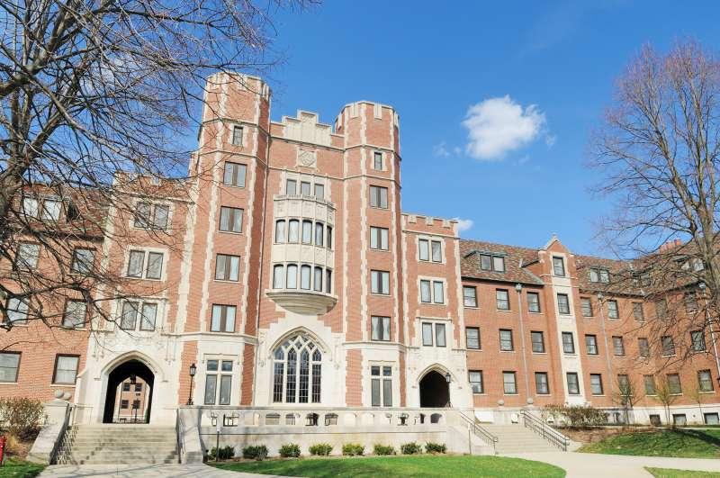 Cary Quadrangle at Purdue University in Indiana.