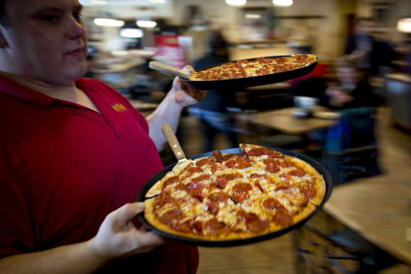 Presidential Candidate Rick Santorum Holds Town Hall At Pizza Ranch