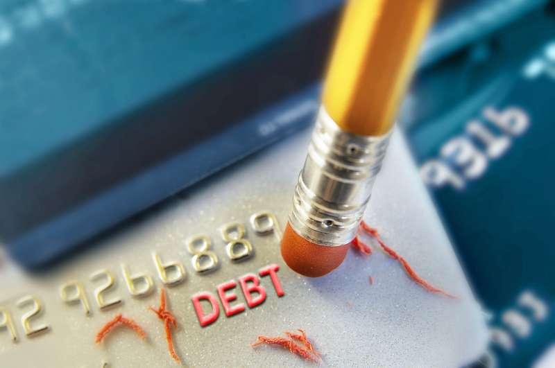 erase a debt