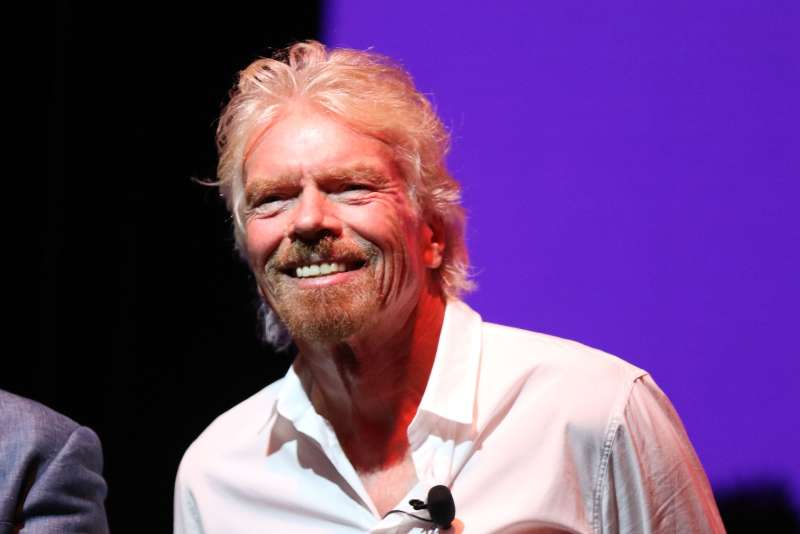 Sir Richard Branson Press Conference at Faena Hotel on Oct. 18, 2016. The business leader spoke at the Fortune/TIME Global Forum on Friday.