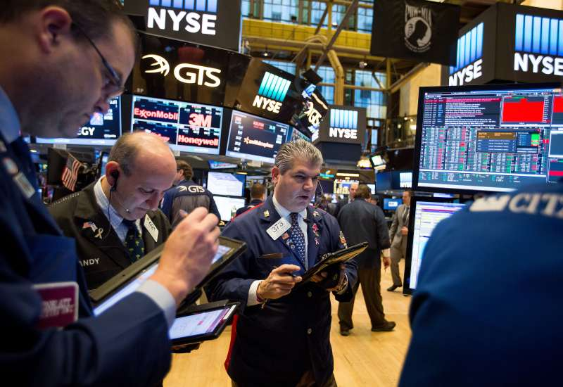 Trading On The Floor Of The NYSE As U.S. Stocks Fluctuate After Payrolls Data Amid Focus On Election