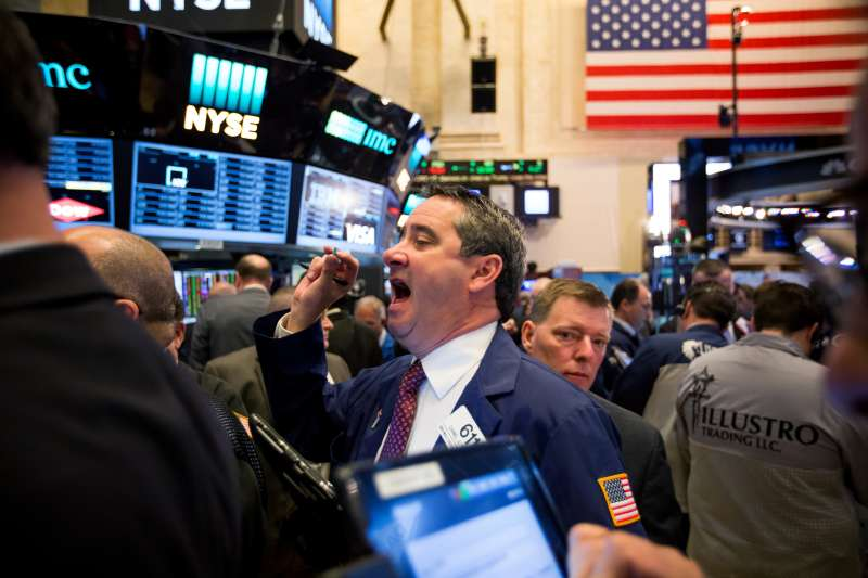 Trading On The Floor Of The NYSE The Day After Trump Defeats Clinton In Stunning Upset