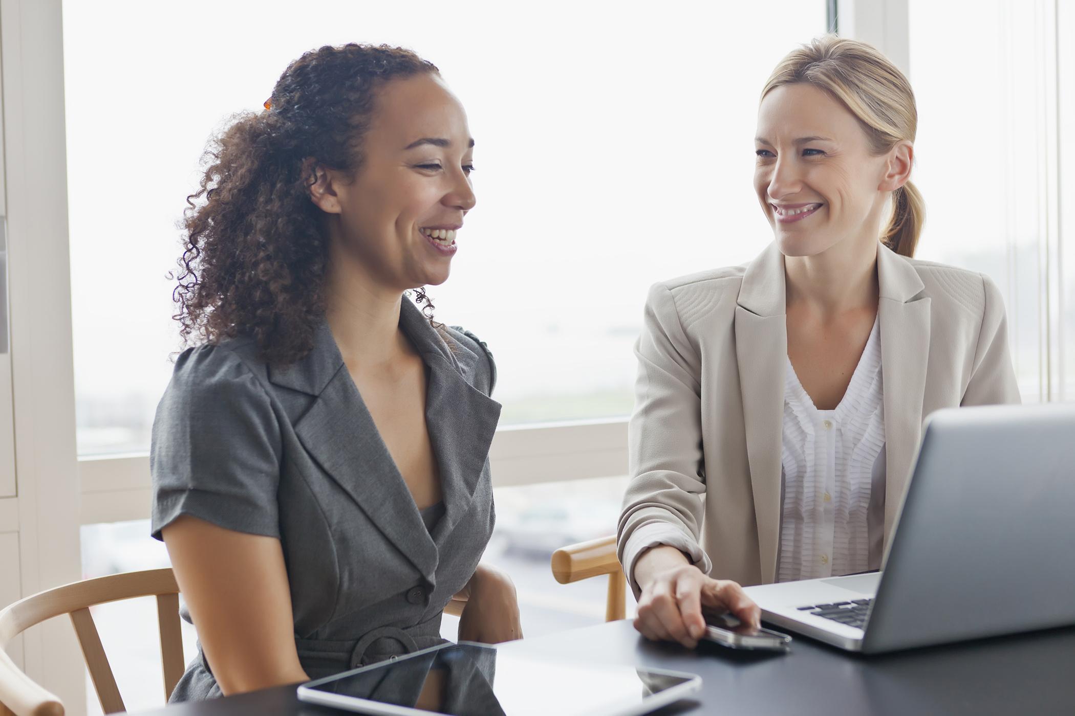 Meeting a job recruiter
