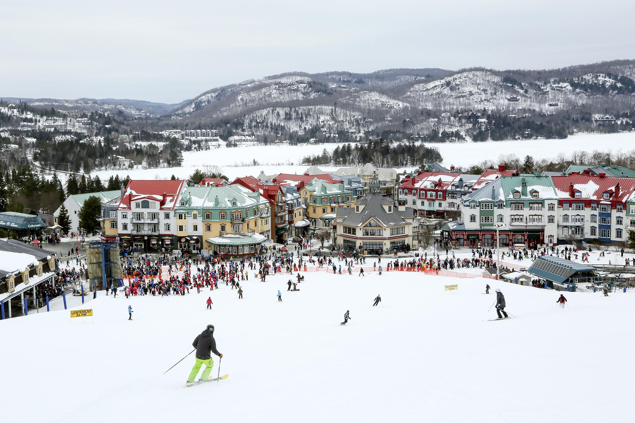 Skiing at Mt Tremblant