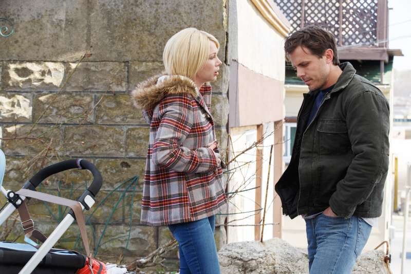 MANCHESTER BY THE SEA, from left, Michelle Williams, Casey Affleck, 2016. ph: Claire Folger. ©
