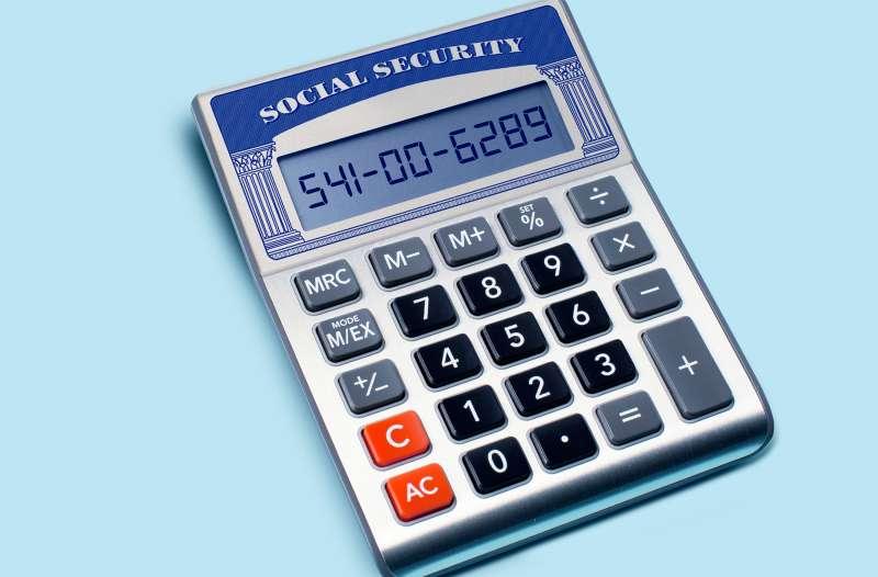 Social Security calculator.
