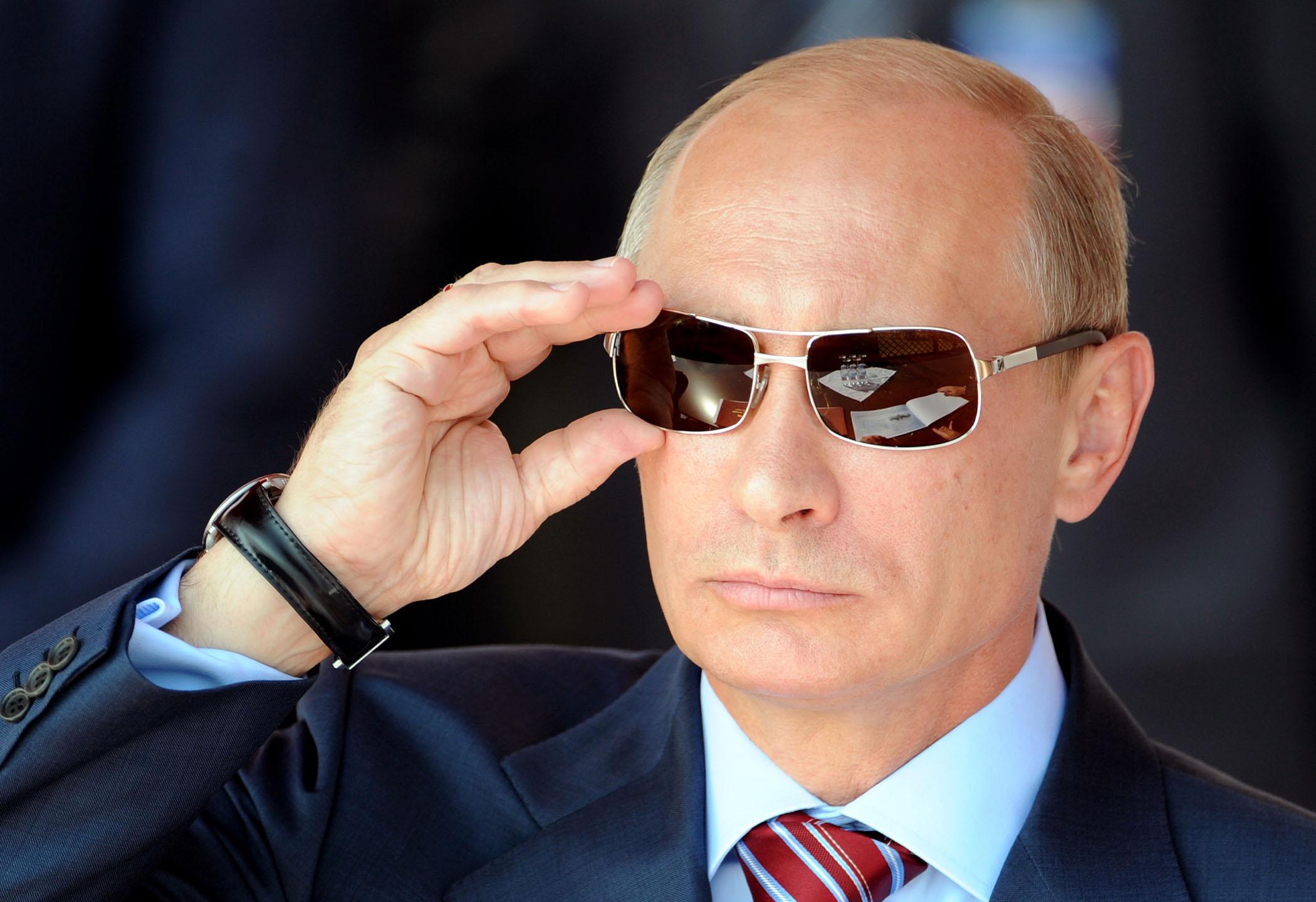 Putin in Sunglasses
